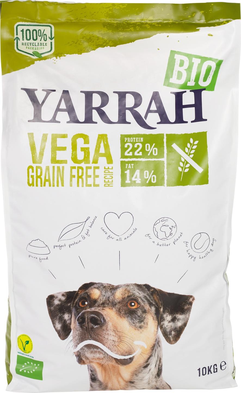 Biologische Yarrah Hondenbrokken vegan graanvrij 10 kg