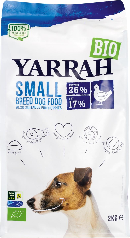 Biologische Yarrah Hondenbrokken small 2 kg