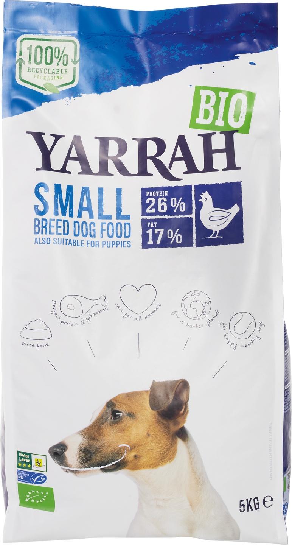 Biologische Yarrah Hondenbrokken small 5 kg