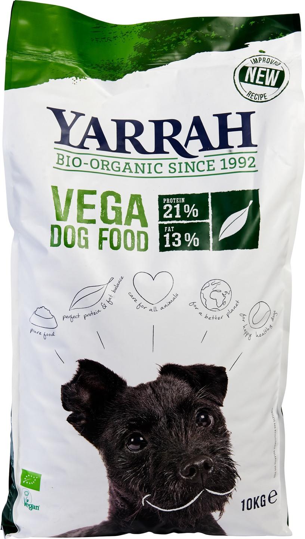 Biologische Yarrah Hond brokjes vegan 10 kg