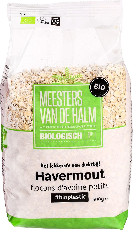 Biologische Meesters van de Halm Havermout 500 gr