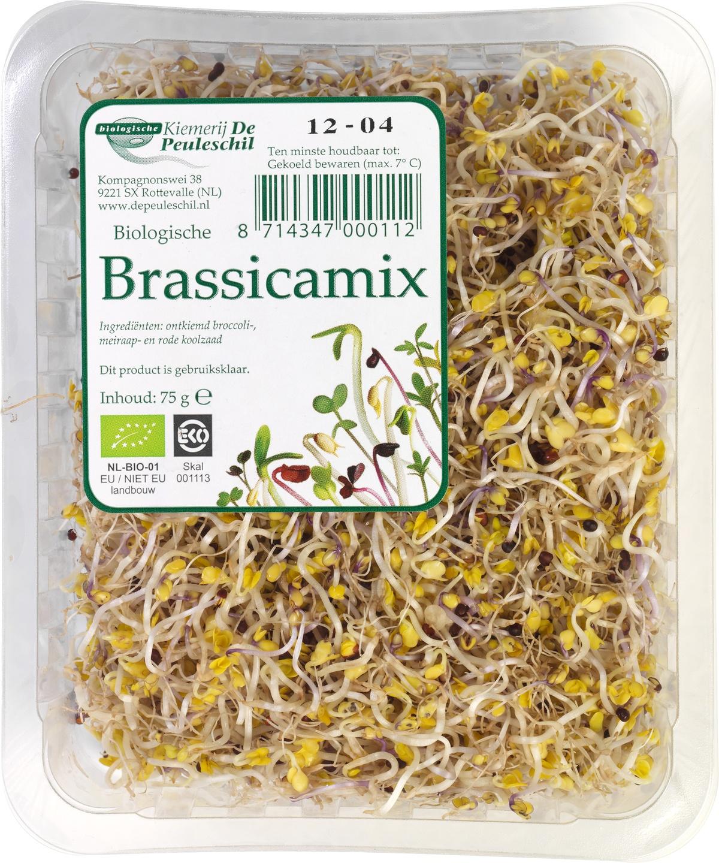 Biologische De Peuleschil Kiem brassicamix 75 gr