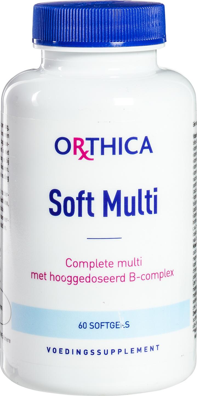 Biologische Orthica Multivitamine softcap 60 st