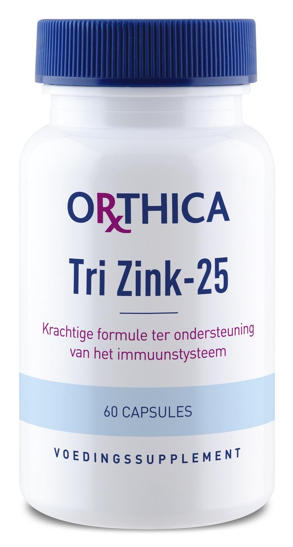 Biologische Orthica Tri Zink-25 60 st