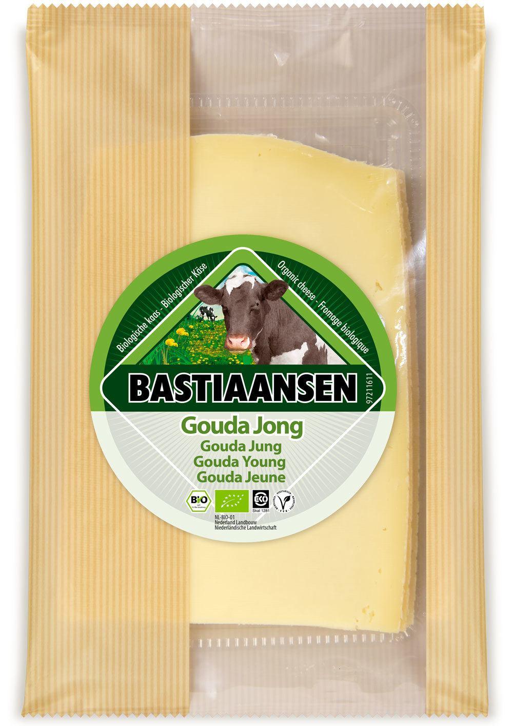 -26% SALE | Biologische Bastiaansen Plakjes jonge kaas 150 gr