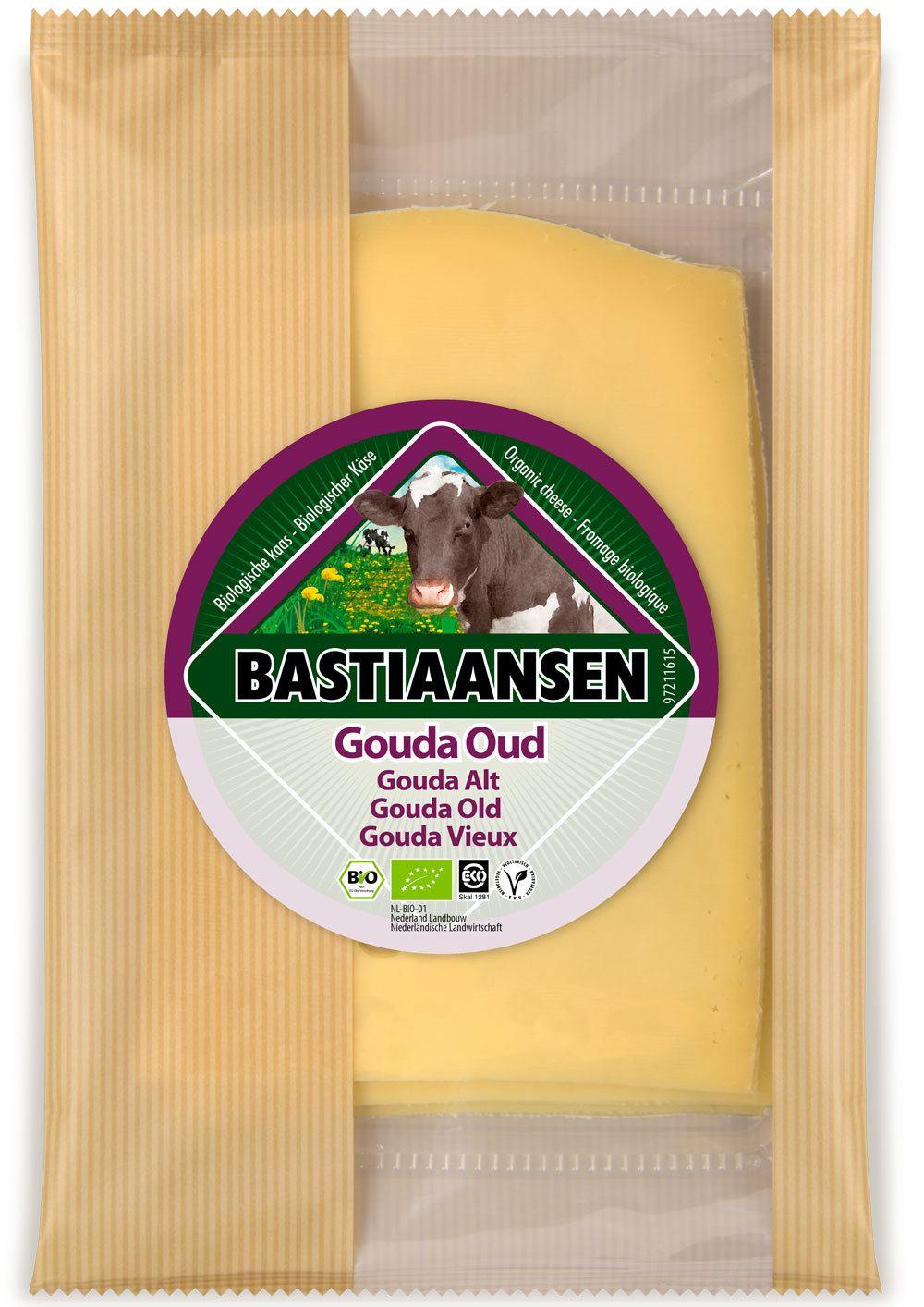 -25% SALE | Biologische Bastiaansen Plakjes oude kaas 150 gr