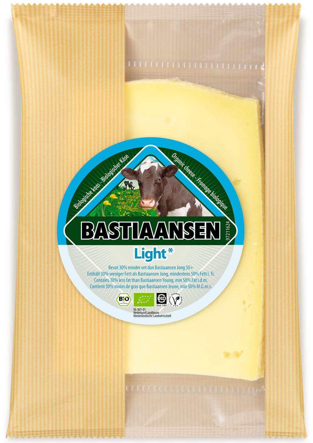 -26% SALE | Biologische Bastiaansen Plakjes kaas light 150 gr
