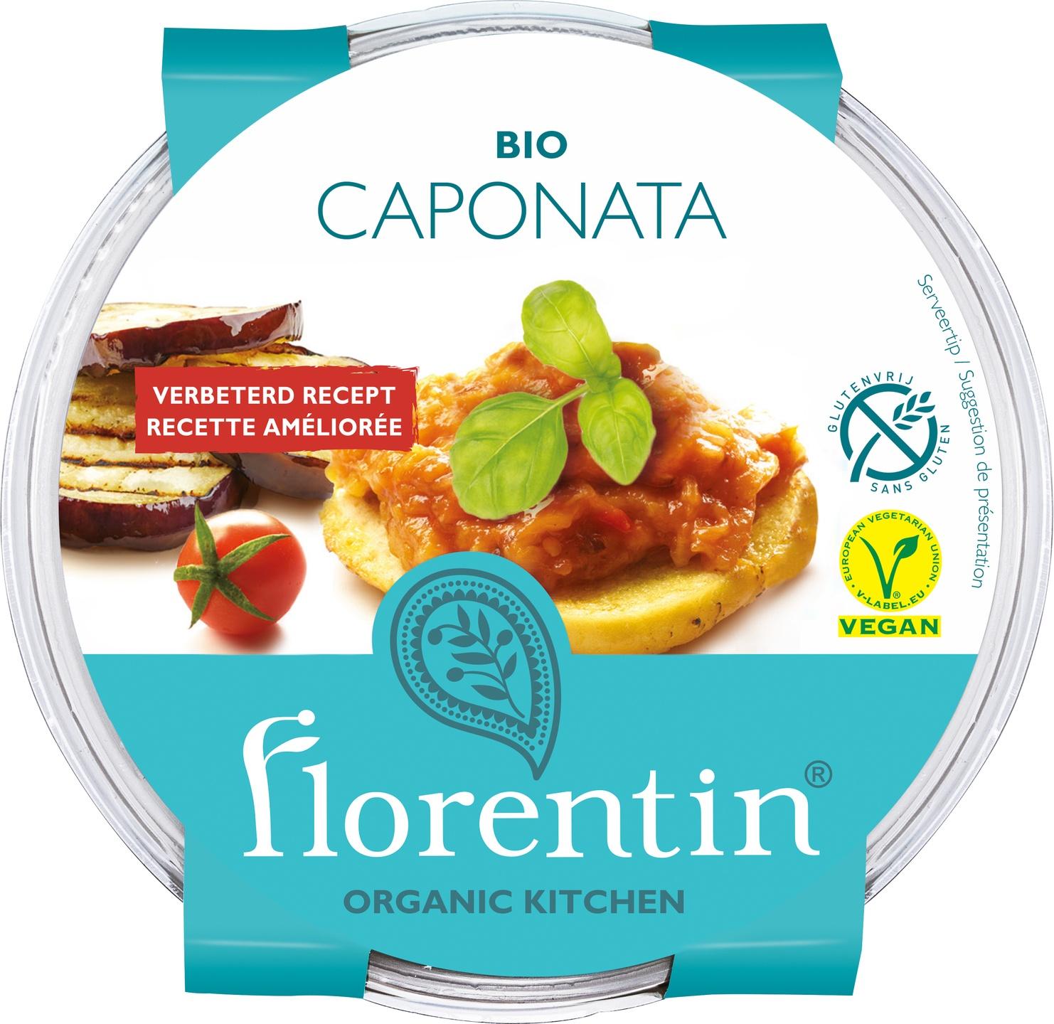 -25% SALE | Biologische Florentin Salade caponata 200 gr