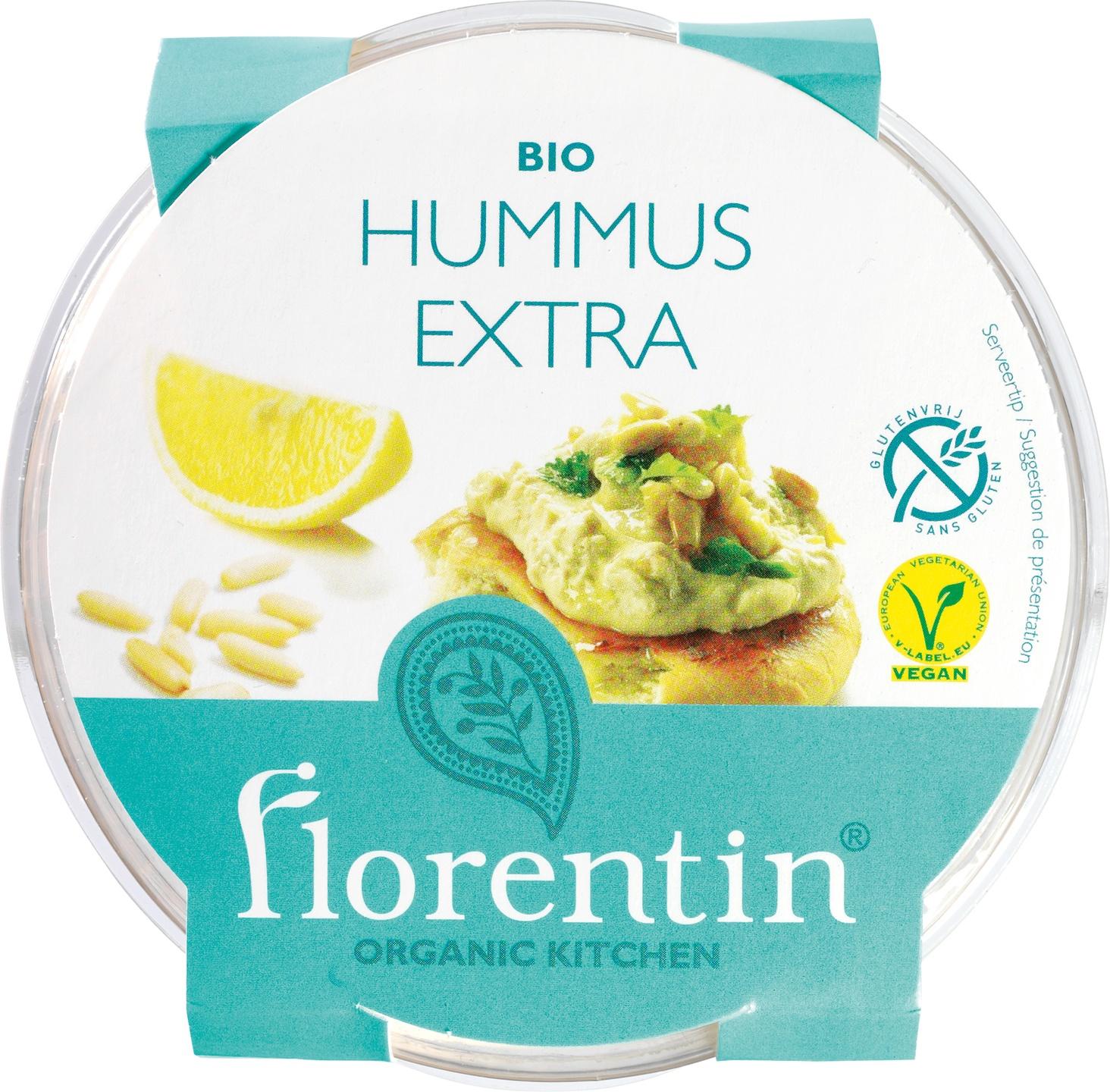 Biologische Florentin Hummus extra 200 gr