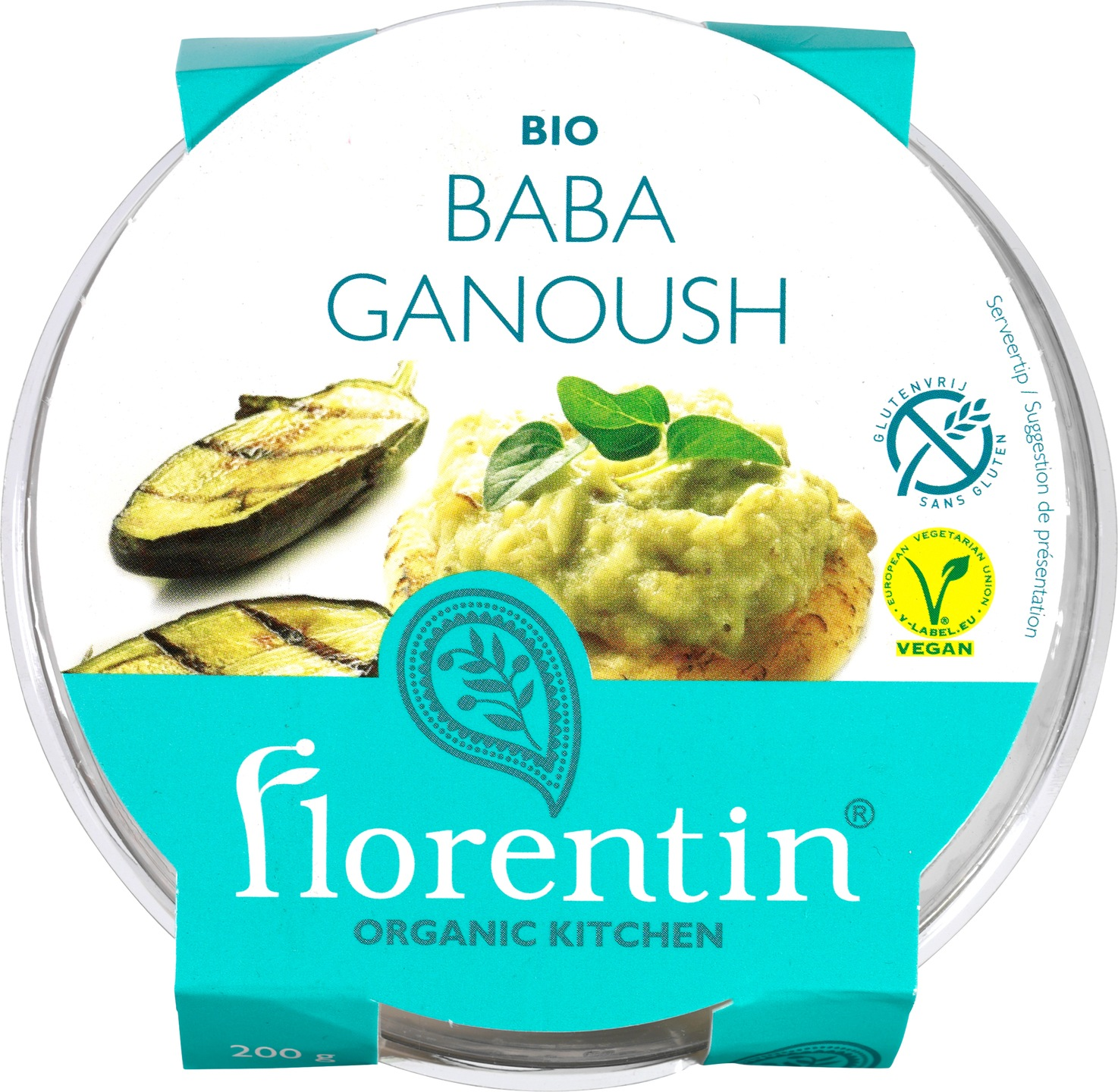 Biologische Florentin Salade baba ganoush 200 gr