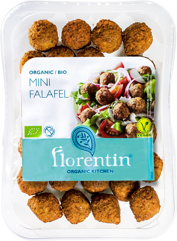 Biologische Florentin Mini falafel balletjes 150 gr