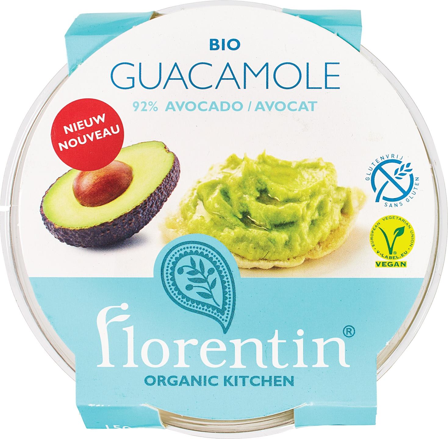 Biologische Florentin Guacamole 150 gr