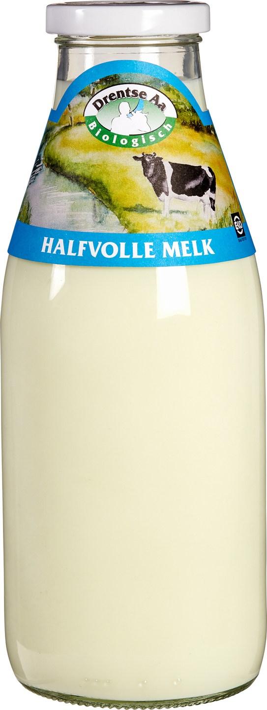 Biologische Drentse Aa Halfvolle melk 1 L