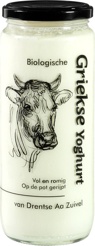 Biologische Drentse Aa Griekse yoghurt 500 ml