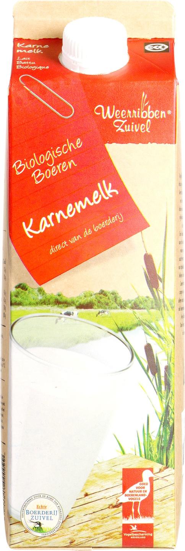 Biologische Weerribben Zuivel Karnemelk 1 L