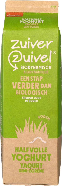 Biologische Zuiver Zuivel Halfvolle yoghurt 1 L