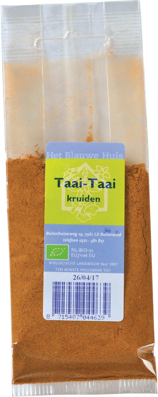Biologische Het Blauwe Huis Taai Taai kruiden 25 gr