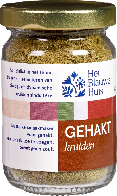 Biologische Het Blauwe Huis Gehaktkruiden 30 gr