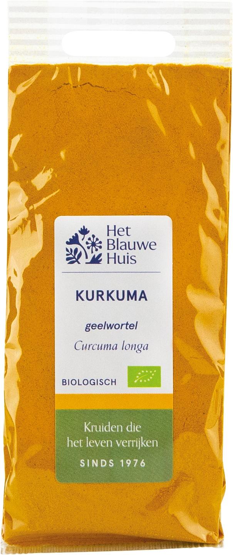 Biologische Het Blauwe Huis Kurkuma (geelwortel) 40 gr
