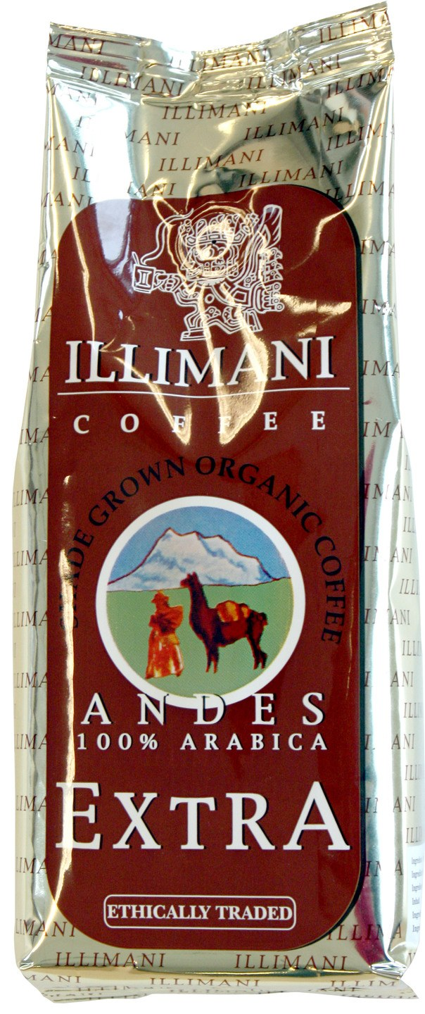 Biologische Illimani Snelfiltermaling andes 100% extra 250 gr