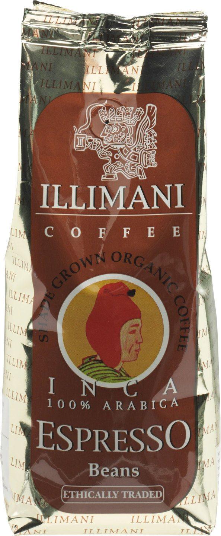Biologische Illimani Koffiebonen espresso 250 gr