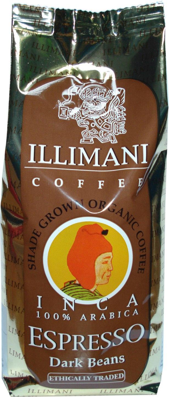 Biologische Illimani Koffiebonen espresso dark 250 gr