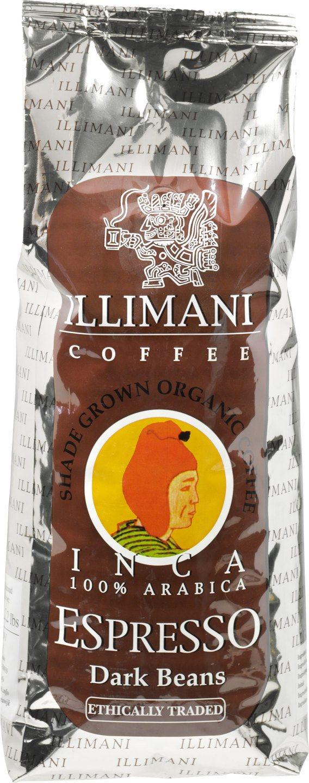 Biologische Illimani Koffiebonen espresso dark 1 kg