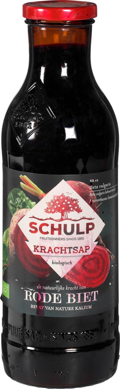Biologische Schulp Krachtsap rode biet 750 ml