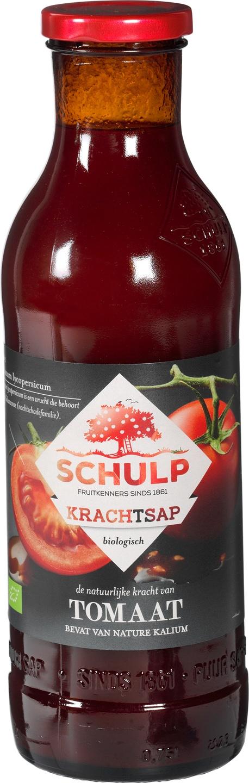 Biologische Schulp Krachtsap tomaat 750 ml