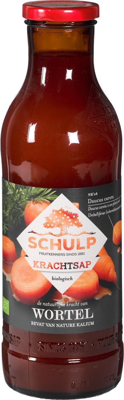 Biologische Schulp Krachtsap wortel 750 ml