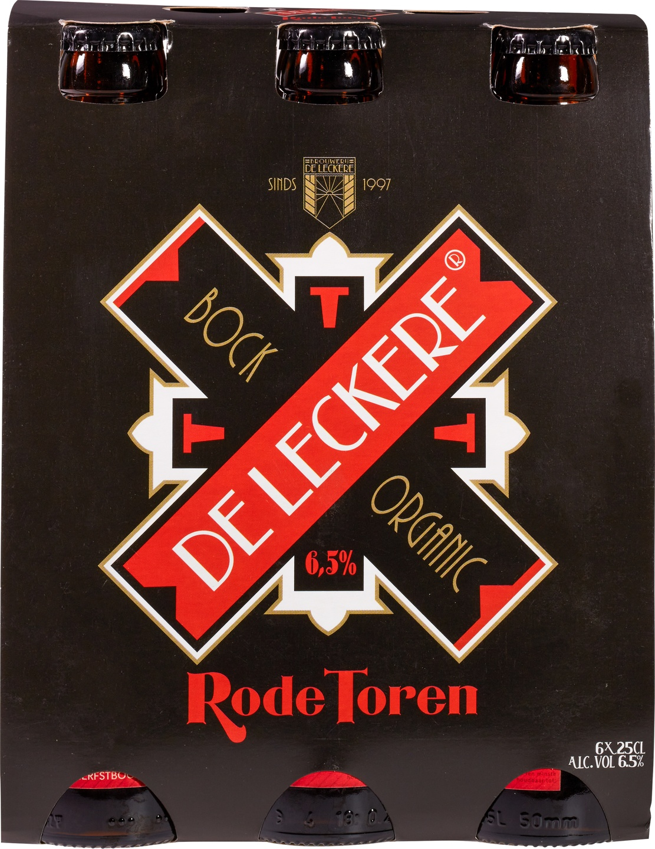 Biologische De Leckere Rode Toren bockbier 6-pack 6 st