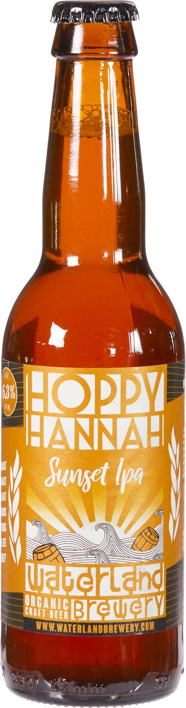 Biologische Waterland Brewery Hoppy Hannah IPA 330 ml