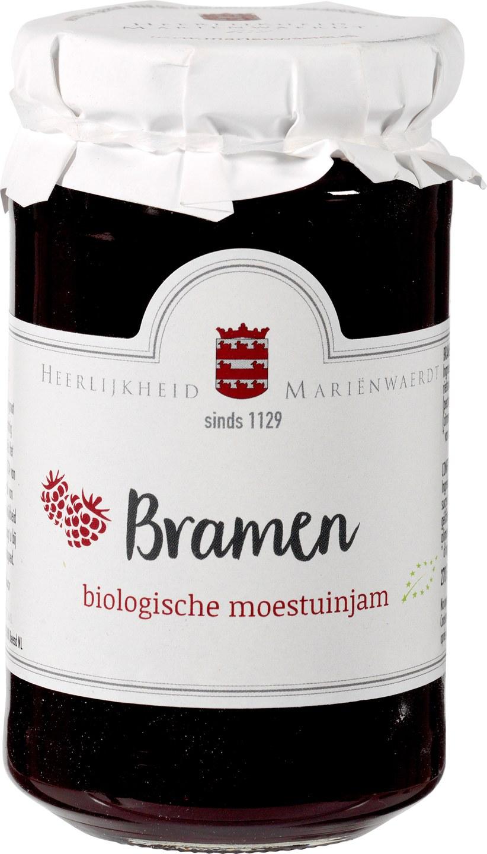 Biologische Mariënwaerdt Bramenjam 250 gr