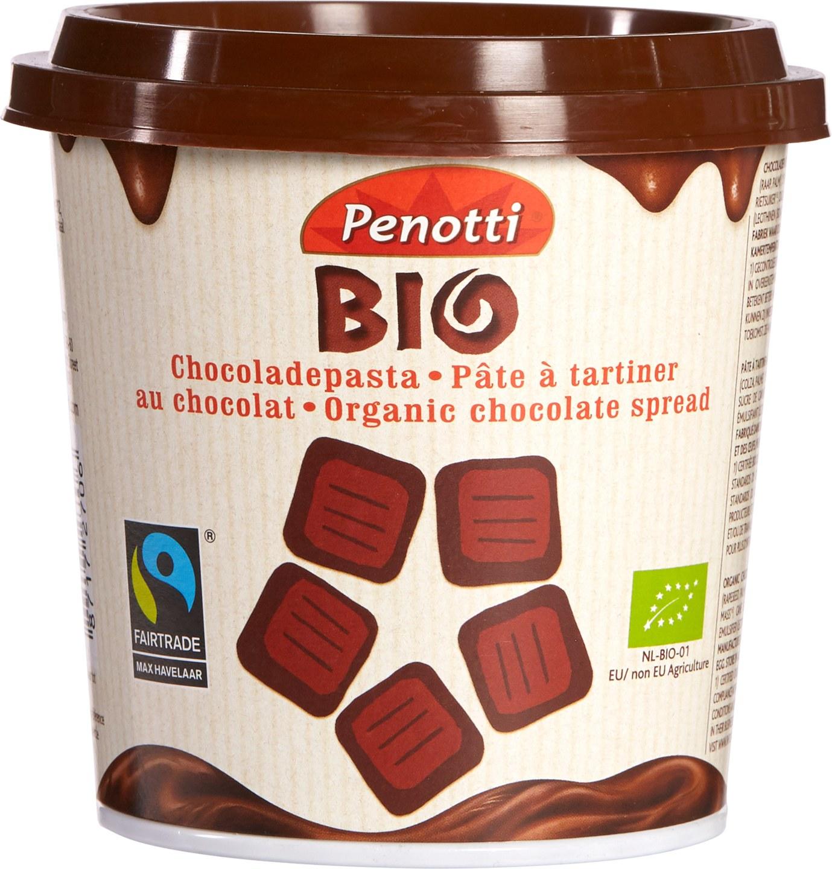Biologische Penotti Bio Chocolade pasta 350 gr