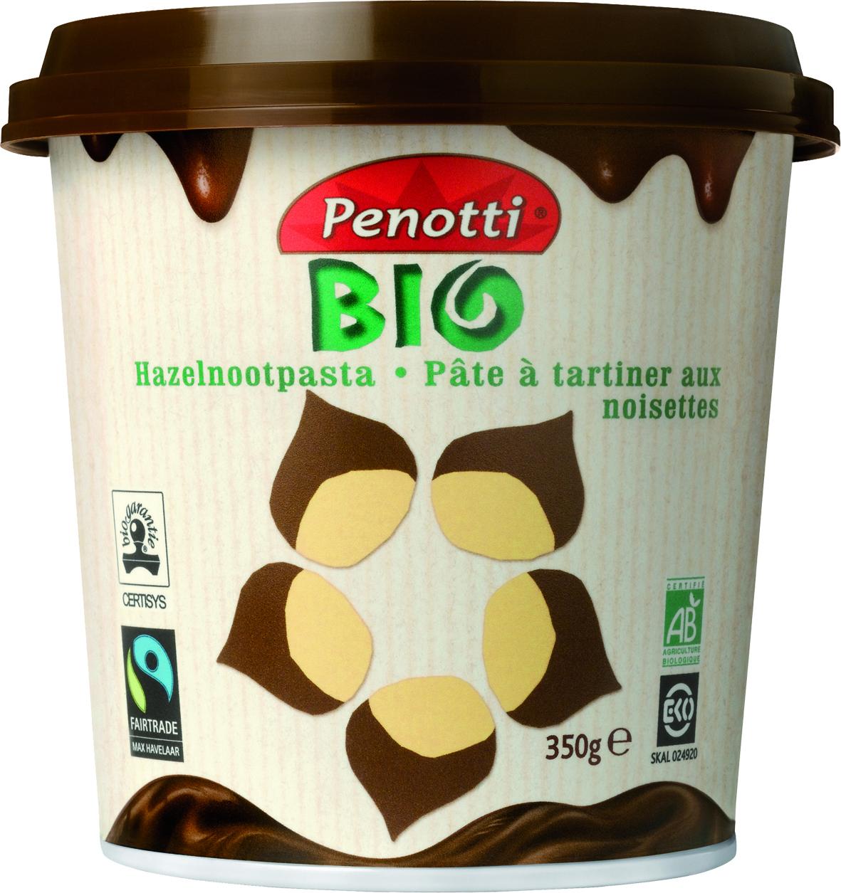 Biologische Penotti Bio Hazelnootpasta 350 gr