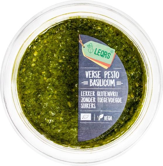 -33% SALE | Biologische LeQrs Verse pesto basilicum 100 gr