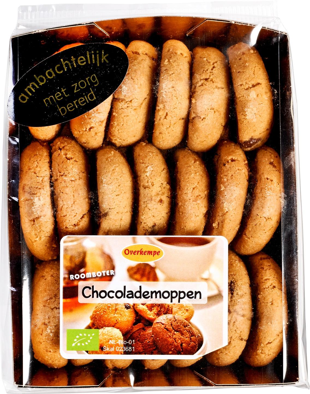 Biologische Bakkerij Overkempe Chocolademoppen koekjes 200 gr