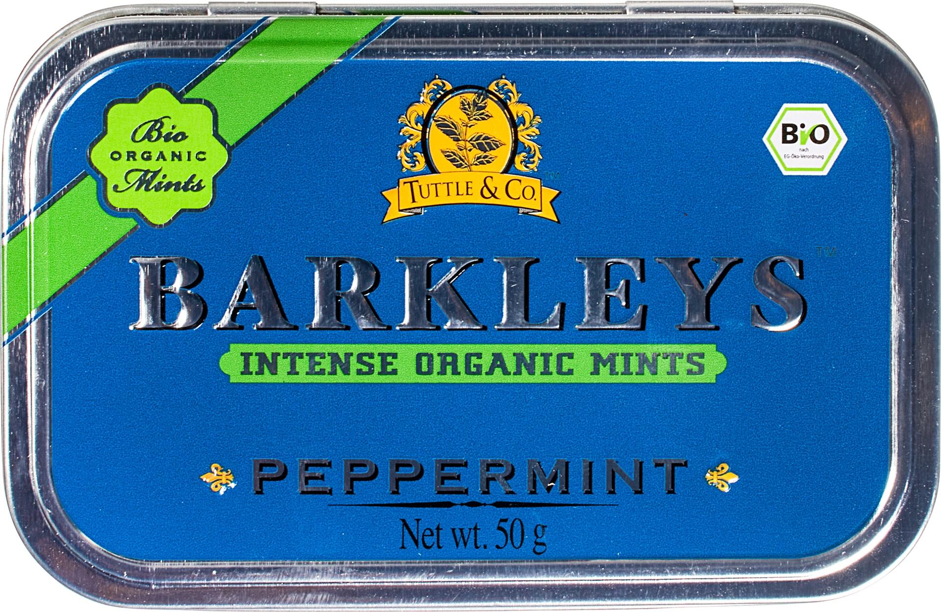 Biologische Barkleys Peppermint 50 gr