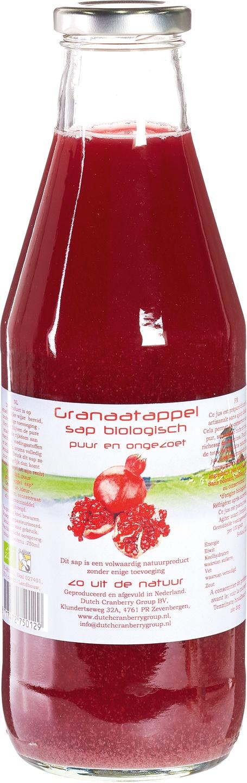Biologische Dutch Cranberry Group Granaatappel Sap 750ml 750 ml