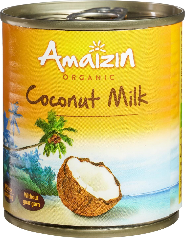 Biologische Amaizin Kokosmelk 200 ml