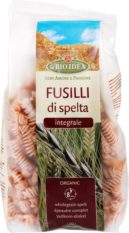 Biologische La Bio Idea Fusilli speltpasta 500 gr