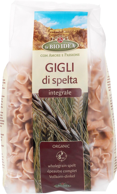 Biologische La Bio Idea Gigli speltpasta 500 gr