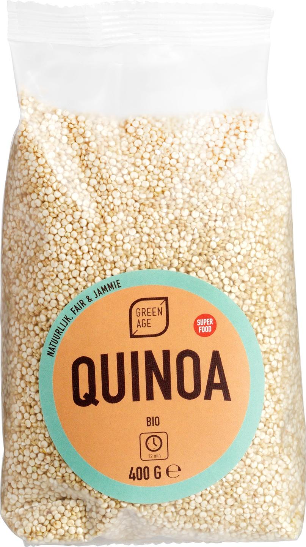 Biologische GreenAge Witte Quinoa 400 gr