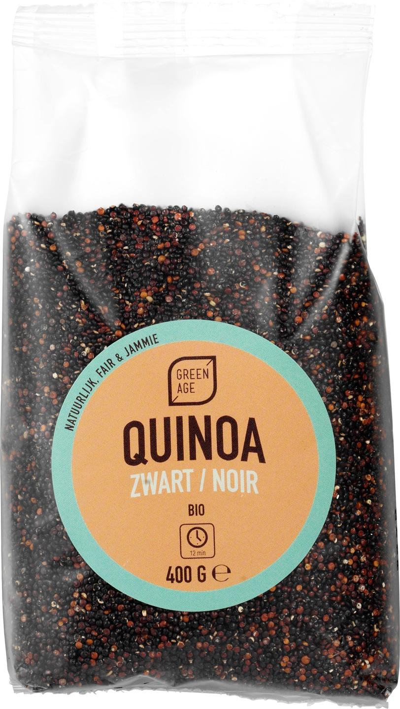 Biologische GreenAge Zwarte Quinoa 400 gr
