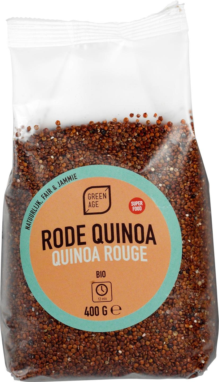 Biologische GreenAge Rode Quinoa 400 gr
