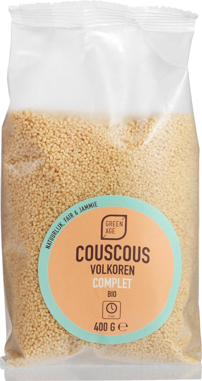 Biologische GreenAge Couscous volkoren 400 gr