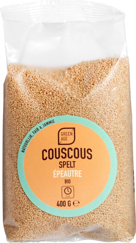Biologische GreenAge Couscous spelt 400 gr