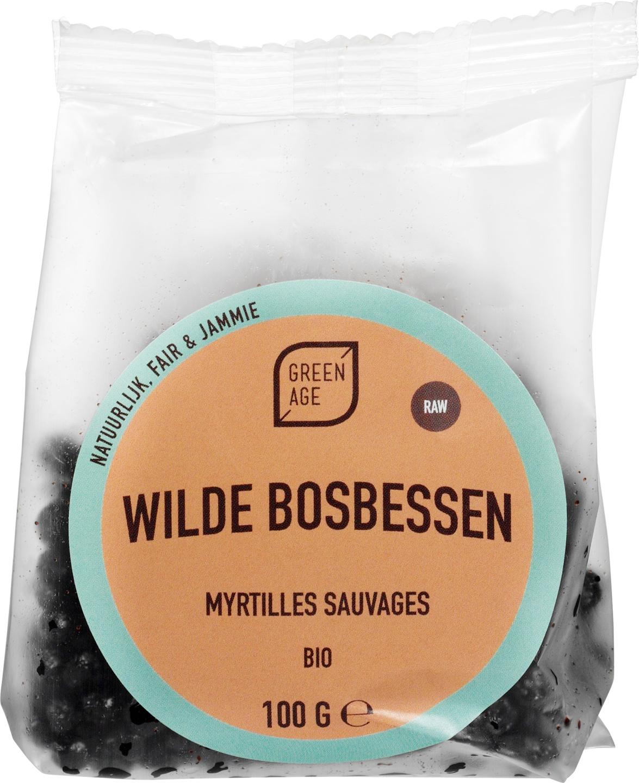 Biologische GreenAge Wilde bosbessen 100 gr