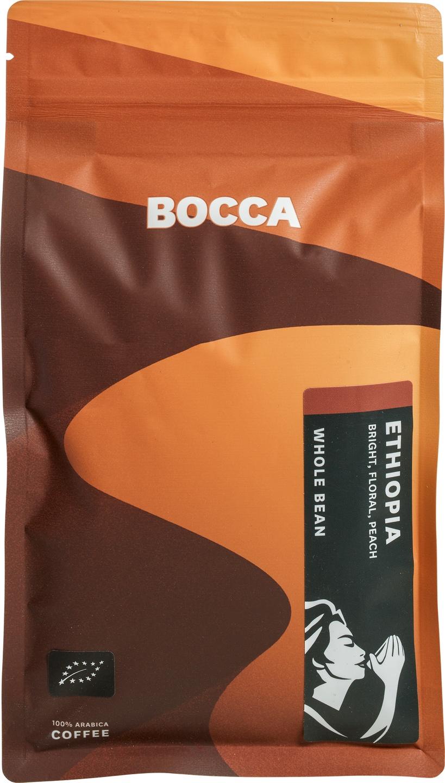 Biologische Bocca Koffiebonen Ethiopia 250 gr