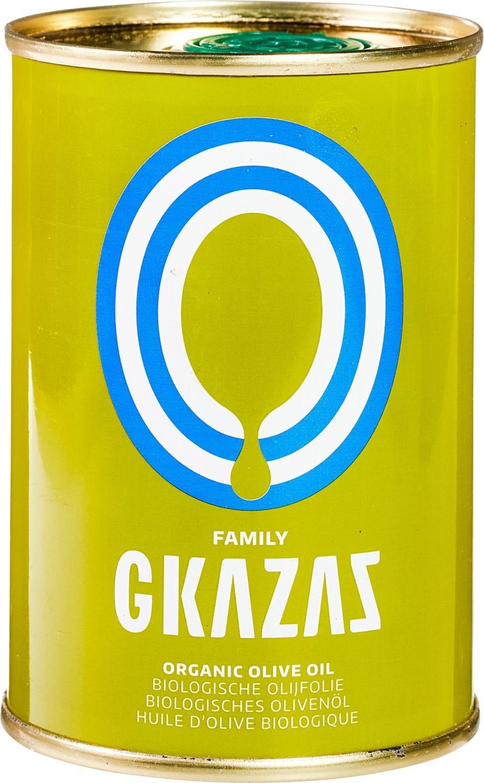 Biologische Gkazas Olijfolie Olijfolie extra vierge Grieks 200 ml